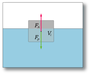 principe Wet van Archimedes
