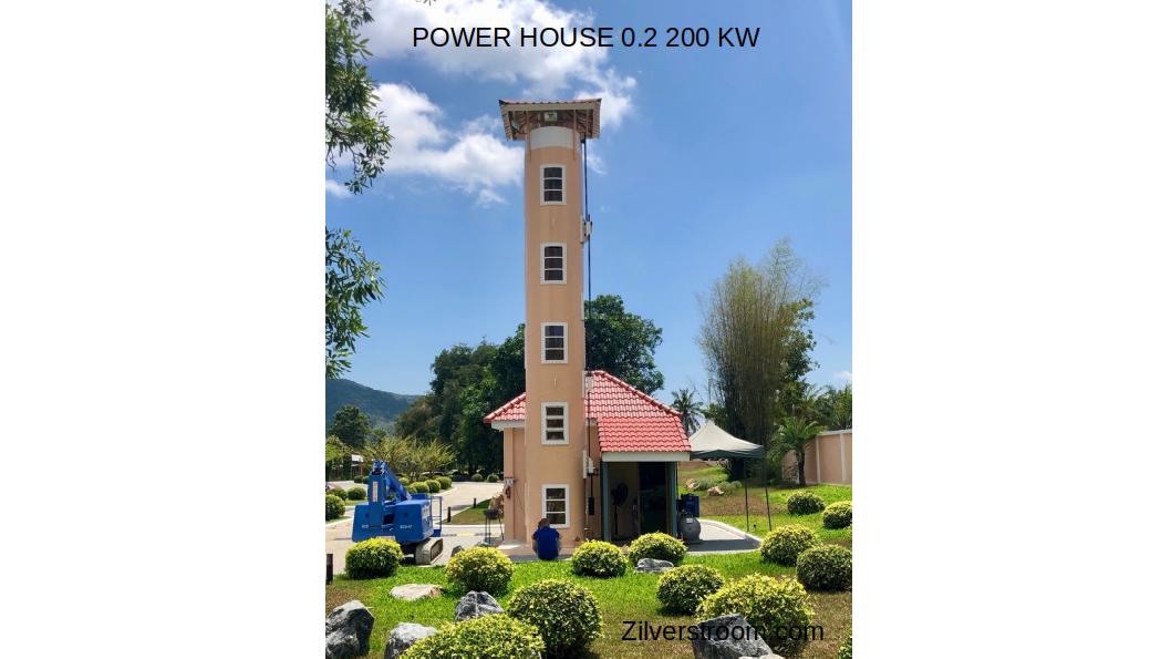 Power House 200 KW aanzicht